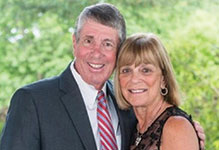 Photo of David and Elaine Weener. Link to their story.